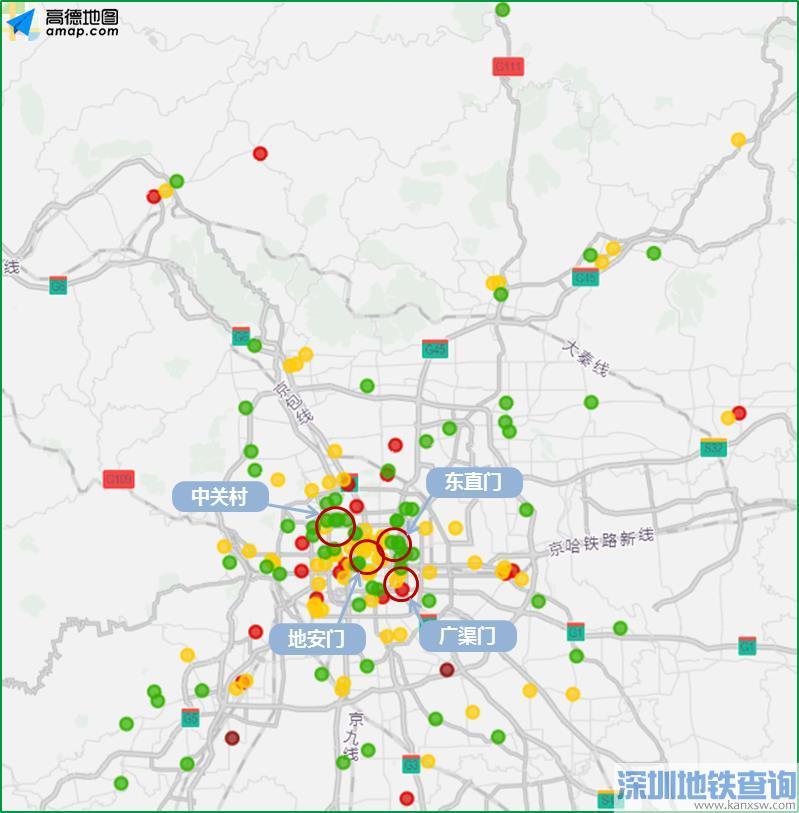 2019年6月22日至6月28日一周北京交通出行提示