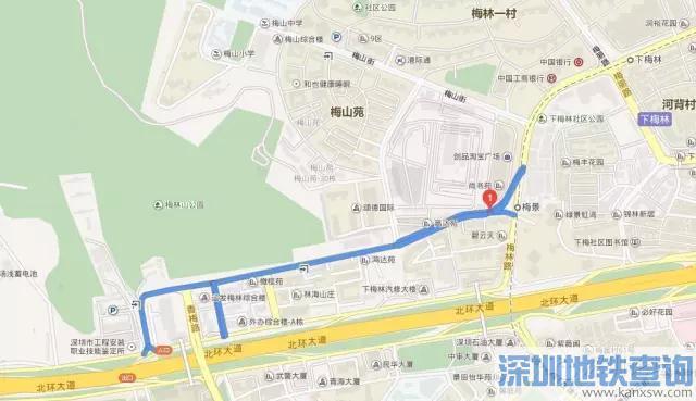 2019深圳目前11条潮汐车道简介、分布位置、通行规则概述