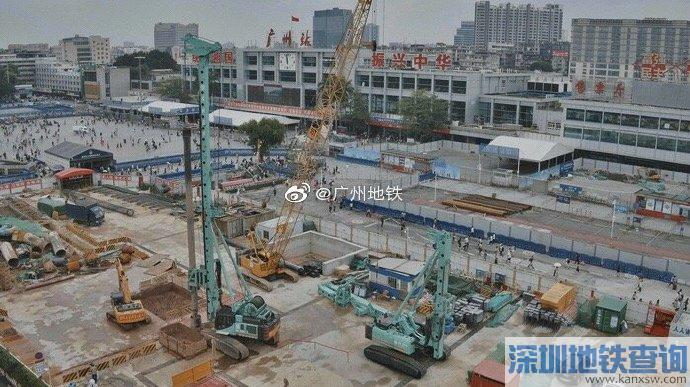 2019年6月广州地铁11号线最新进度 土建完成14%