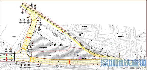 广州地铁7号线二期加庄站2019年7月10日起围蔽施工(图)