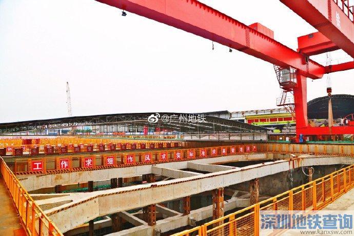 广州地铁18号线2019年7月最新消息进展:土建完成27%