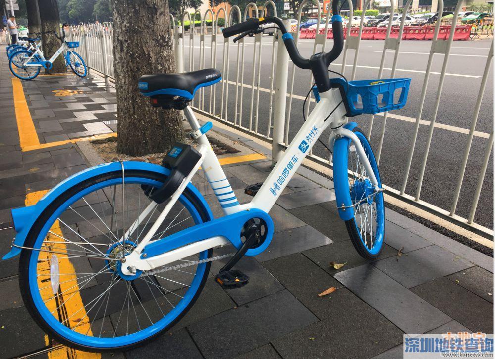 广州哈��单车2019年8月9日起涨价 每30分钟1.5元