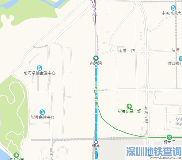 深圳地铁5号线南延段前海湾站地址在哪?附详细规划位置图