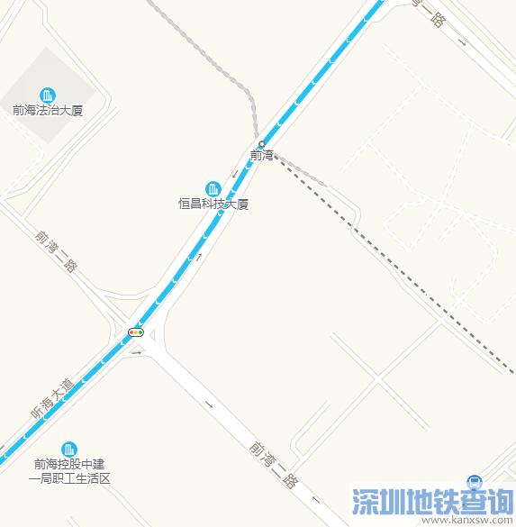 深圳地铁5号线南延段前湾站地址在哪?附详细规划位置图