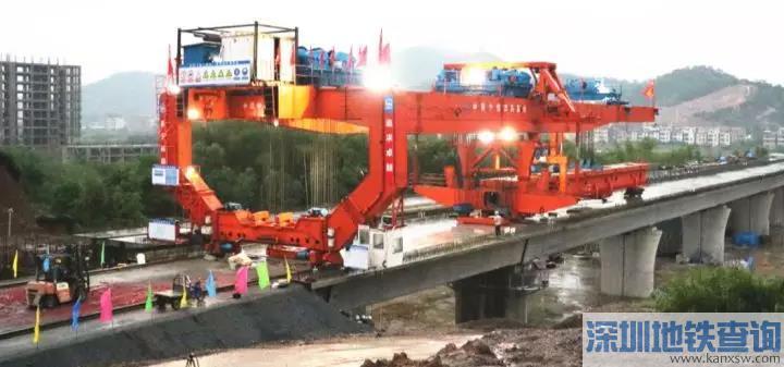 赣深高铁河源段工程进度过半 计划2021年建成通车