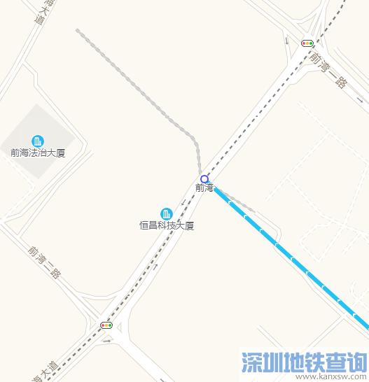 深圳地铁9号线西延段10个站点具体分布位置图一览