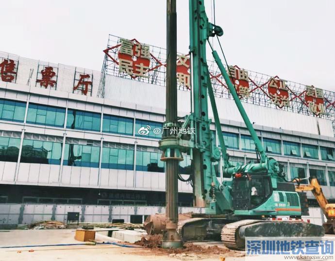 广州地铁11号线2019年8月最新进度 土建完成19%