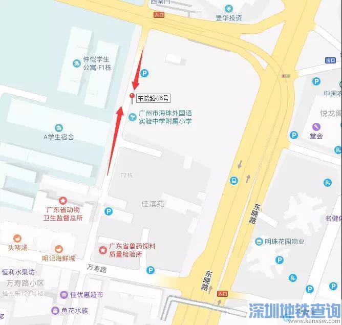 2019年8月1日起广州海珠区新增7套电子警察(具体分布图)