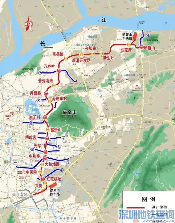 南京地铁6号线都有哪些换乘站?