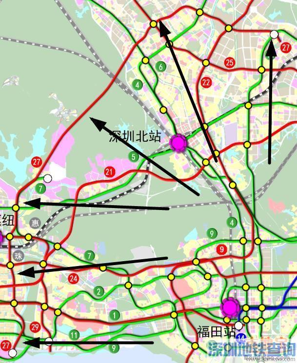 深圳地铁27号线(开工开通+站点+线路图+进展)