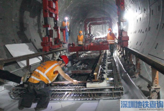2019年8月广州地铁8号线北延段最新进展 土建完成85%
