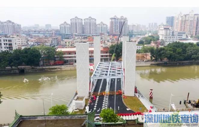广州番禺光明大桥2019年9月16日上午将正式通车