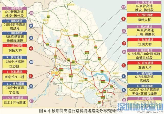 2019南京中秋节出行提醒