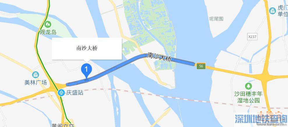 南沙大桥(虎门二桥)全长多少公里?限速多少
