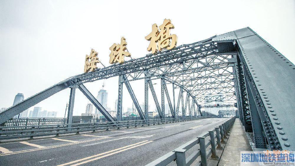 2019年9月27日-10月1日广州海珠广场路段临时交通管制一览