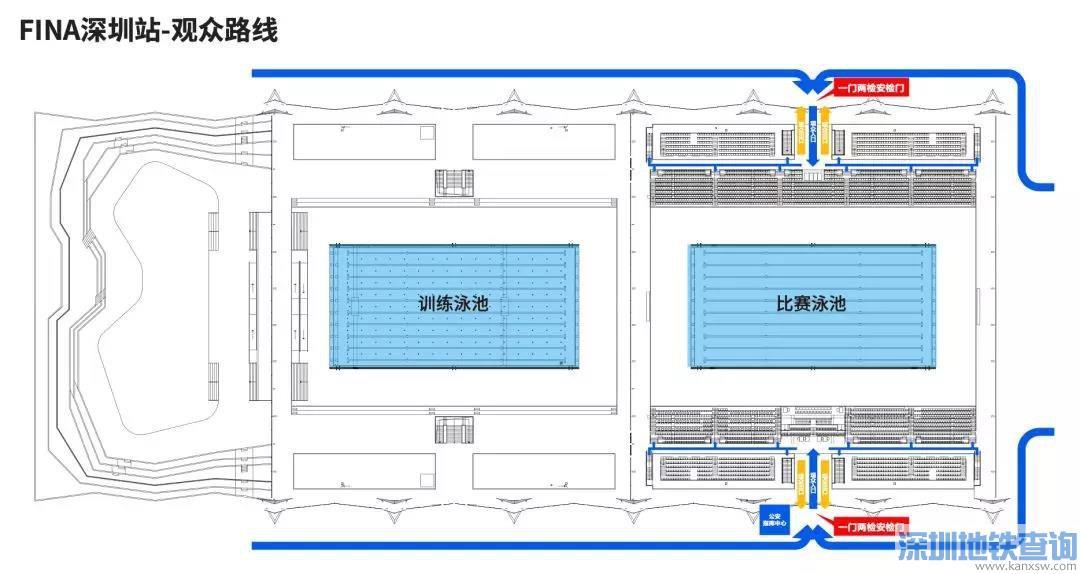 2020年FINA冠军游泳系列赛(深圳站)时间是什么时候?地点在哪?需要门票吗?怎么买票怎么去?