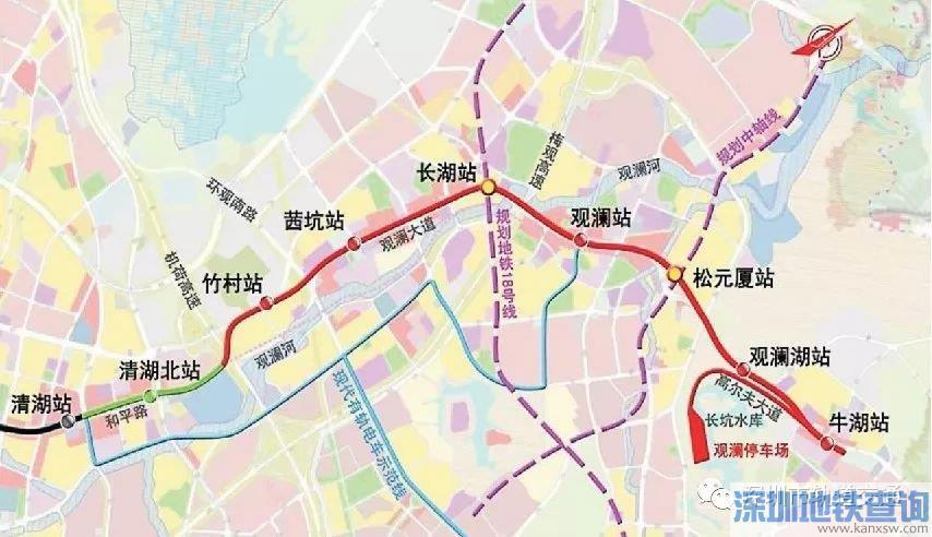 深圳地铁4号线清湖北站出入口有几个?附具体位置分布