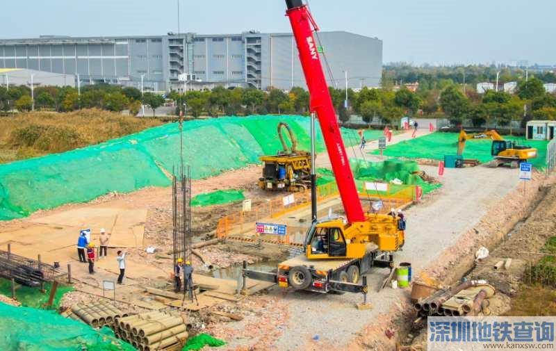 沪苏湖铁路上海段最新进展