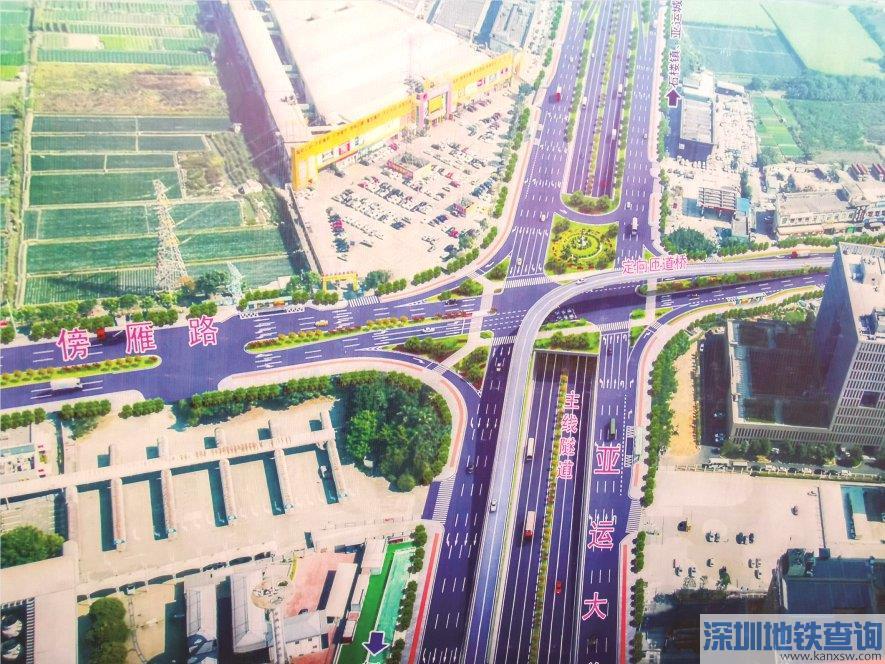 广州亚运大道改造工程预计2022年建成完工