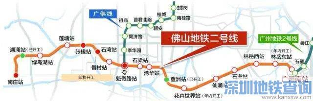 佛山规划在建地铁最新通车时间 附2020最新进展