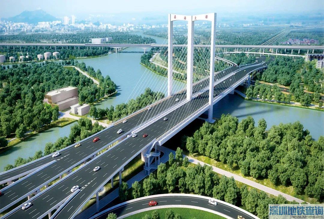 广佛番海大桥详细信息效果图(长度+范围+功能)