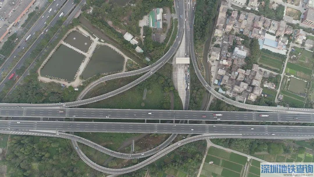 南沙港快速路亚运城和细沥立交2020年4月23日起实施交通管制