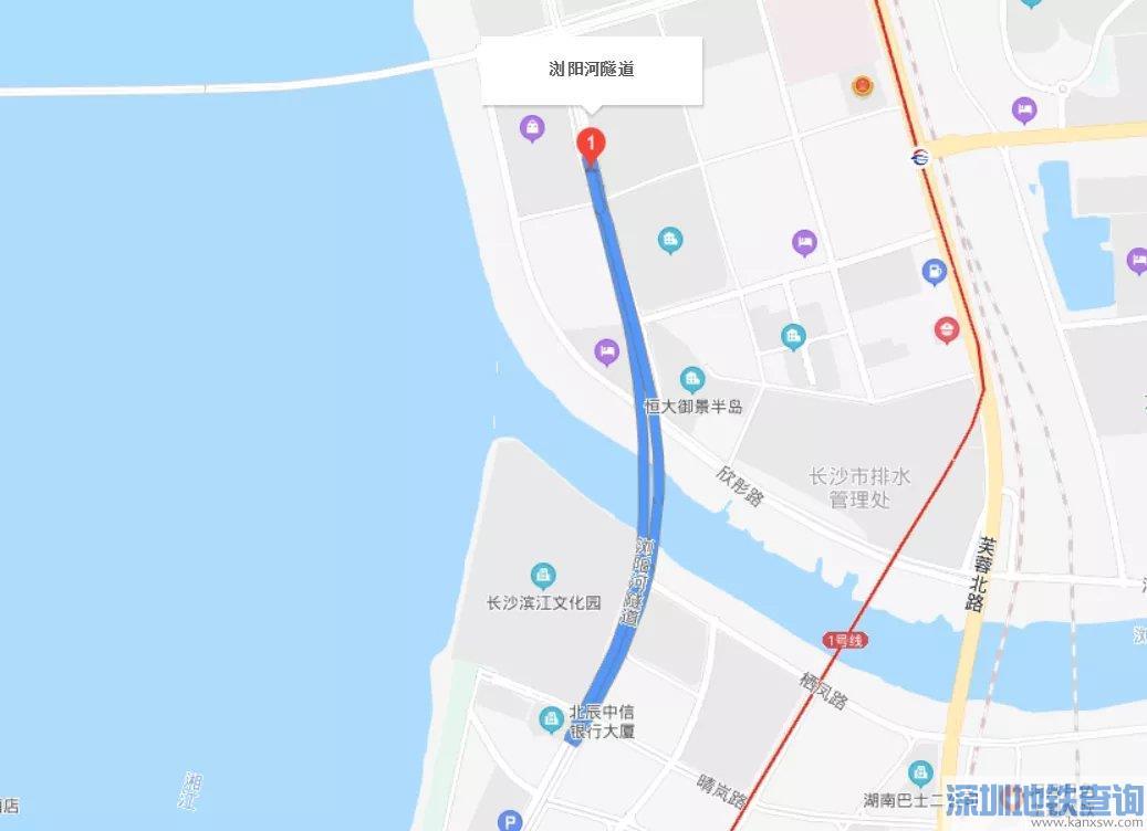 长沙营盘路隧道和浏阳河隧道将近日实施交通管制