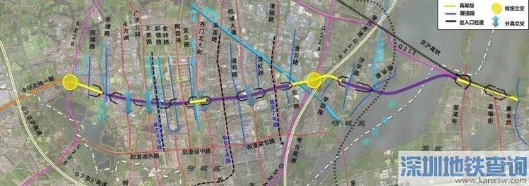 2020苏州南湖路快速路东延工程最新规划详情