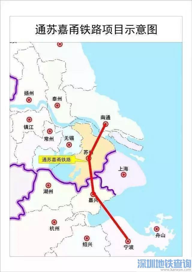 通苏嘉甬铁路苏州段什么时候正式开工建设