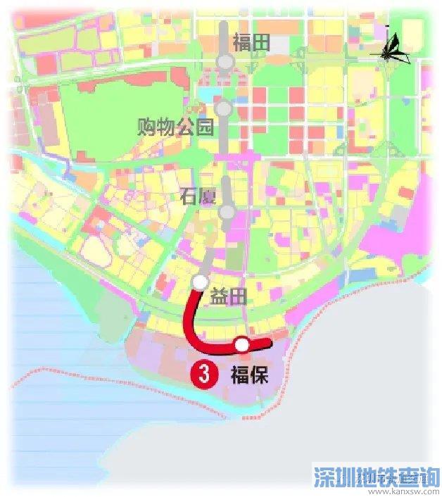 """深圳地铁3号线南延线近日顺利实现""""电通"""""""