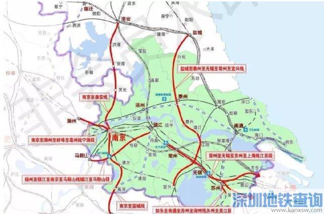 如通苏湖城际铁路最新规划详情