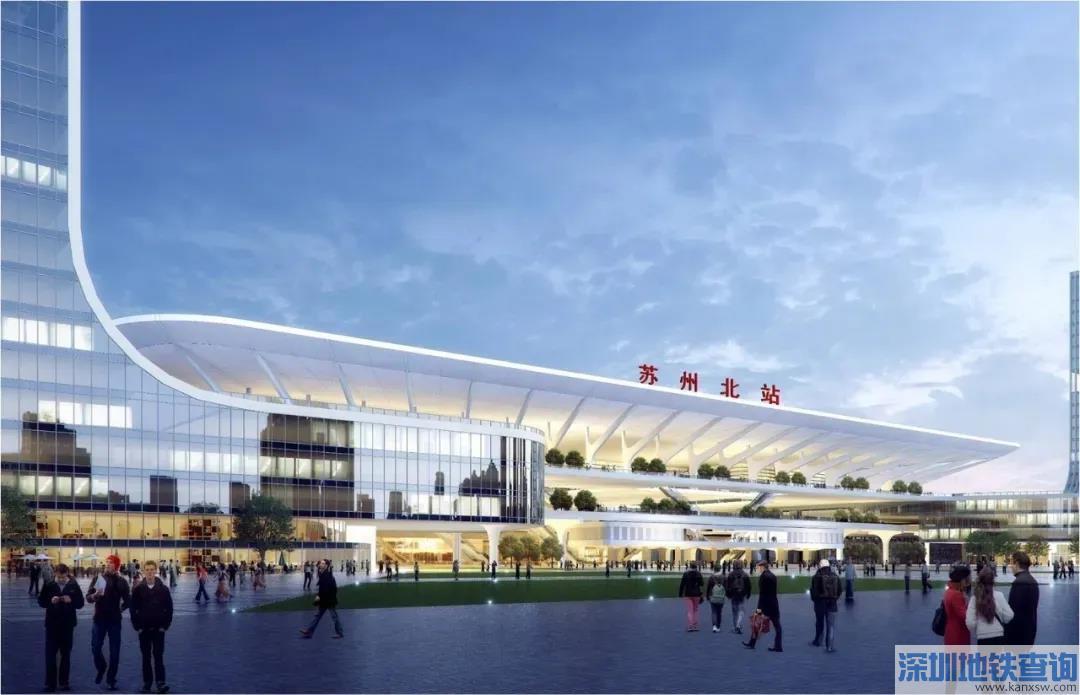 苏州北站扩建最新规划效果图