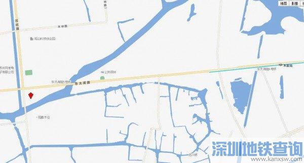 苏州木里公交换乘枢纽站具体位置在哪
