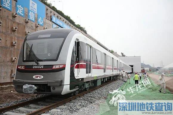重庆地铁轨道9号线车型正式亮相 一次可载客2000人