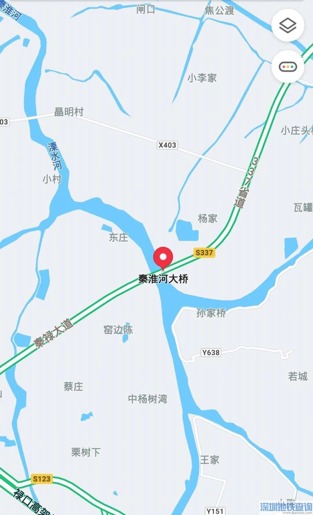 南京002省道秦淮河大桥预计2020年10月正式建成通车