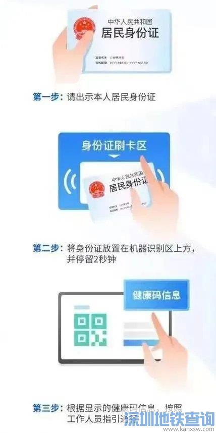 2021广东老年人刷身份证可核验健康码(附详细操作指引)