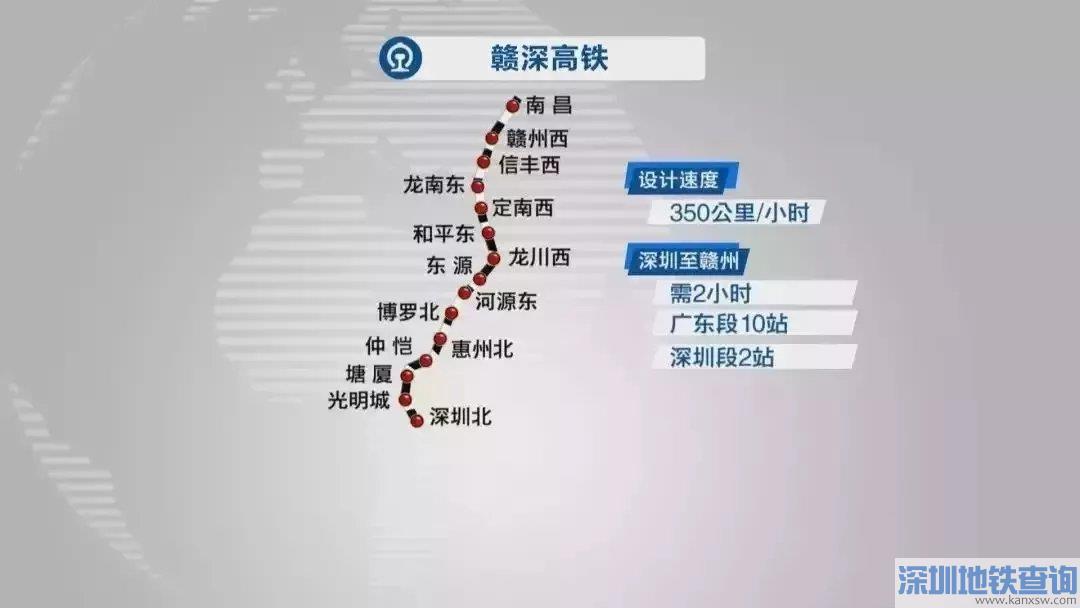2021深圳在建铁路基本情况及最新进展一览