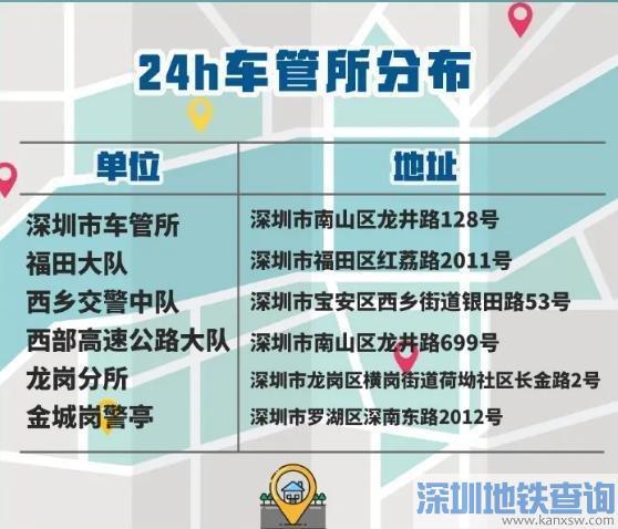 深圳2021清明节假日车管工作安排