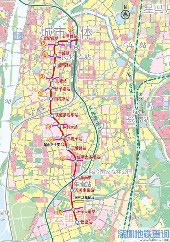 长沙地铁7号线什么时候正式开工建设?附线路介绍