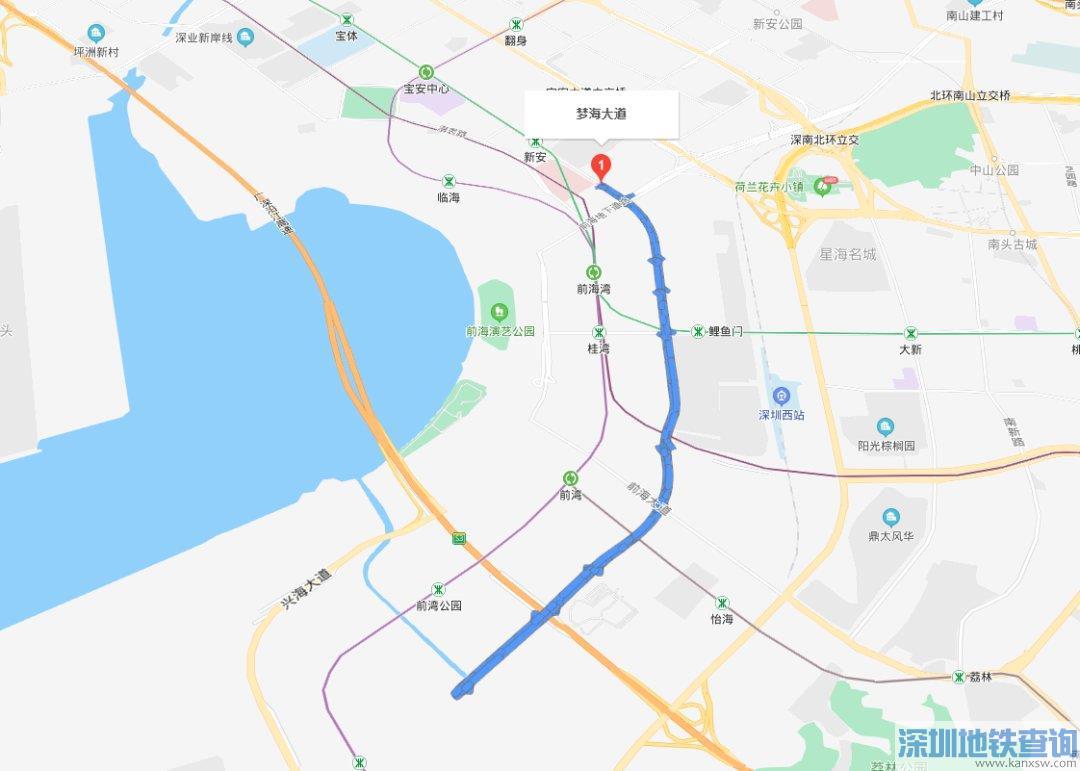 深圳前海梦海前湾河桥8月26日正式通车
